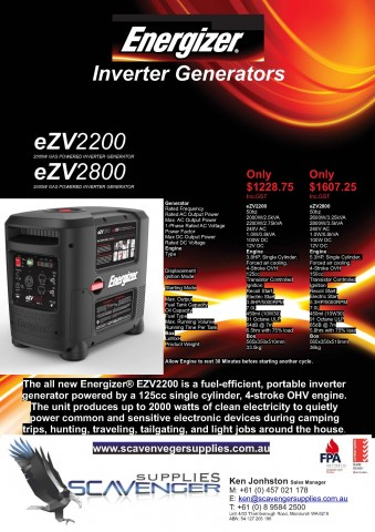 energizer-inverter-generators Energizer Inverter Generators Portable Power Inverter Generator