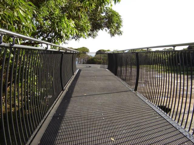 frp-grating-jibbon-head-boardwalk FRP Grating - Jibbon Head Boardwalk Mini Mesh Grating FRP Decking Boardwalk
