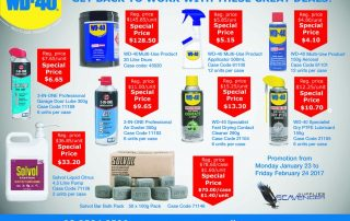 wd40-back-to-work-specials-320x202 WD40 Back to Work Specials to 24 February 2017 WD40 Specials Scavenger Supplies February 2017 Back to Work